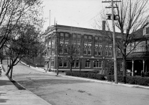 Uptown Charlotte in the early 1900s